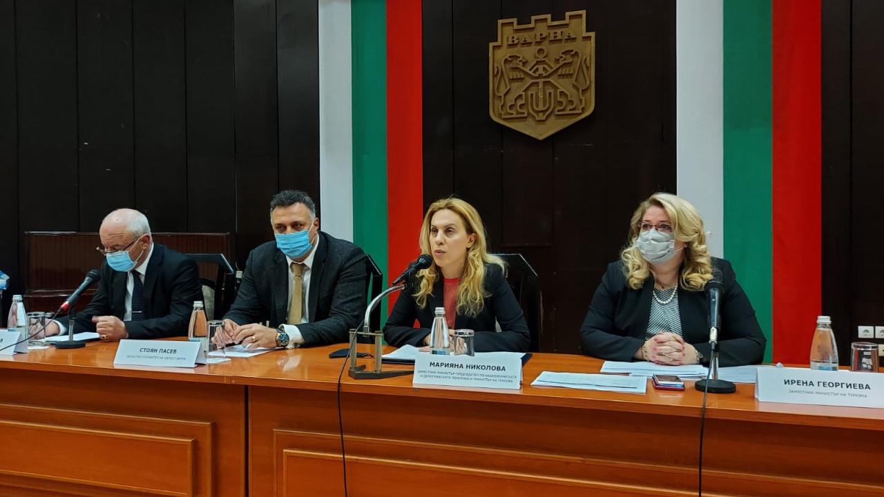 Марияна Николова във Варна: Важно е да гарантираме сигурно и безопасно лято на туристите