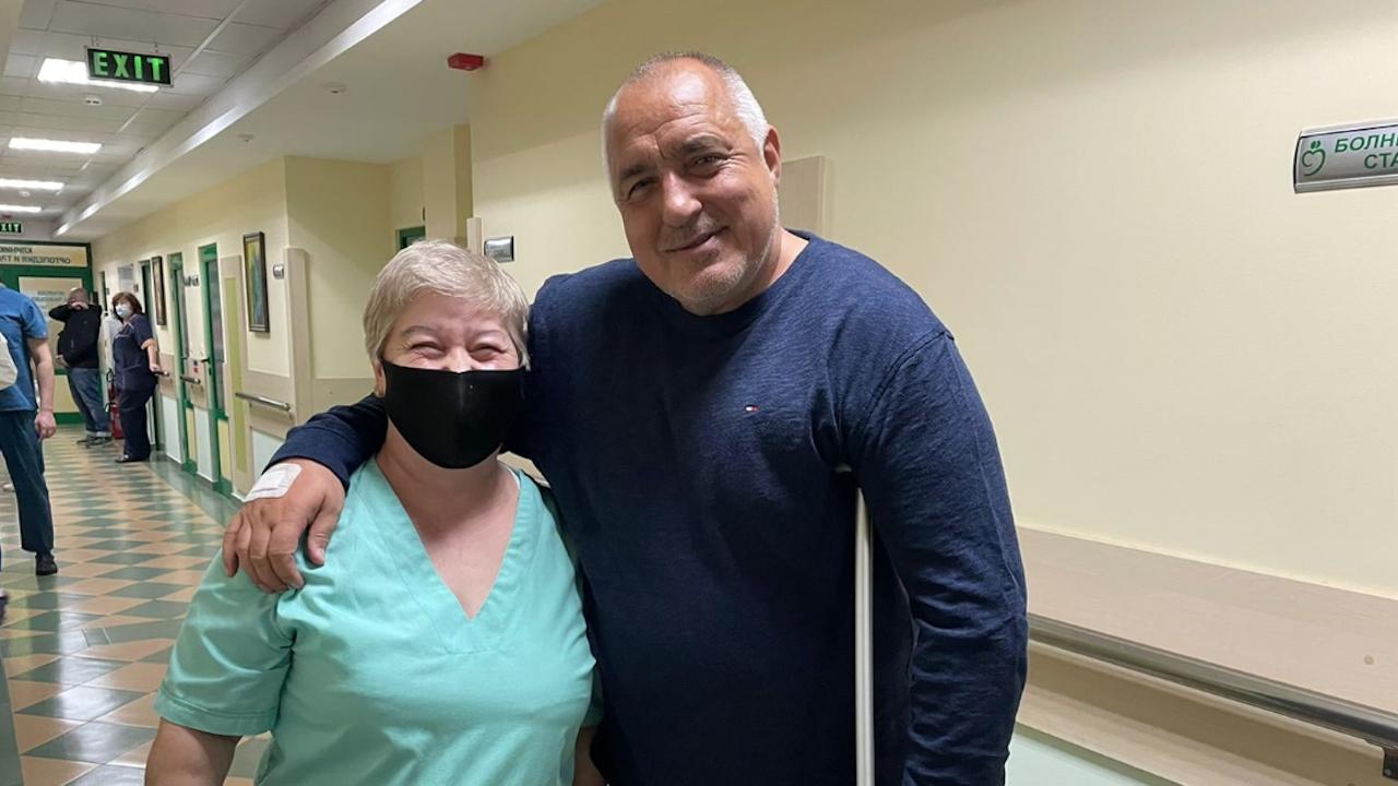 Лекар със страхотна новина за Бойко Борисов