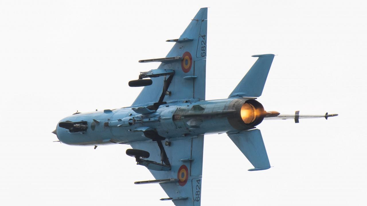 Самолет Миг-21 се разби в Румъния