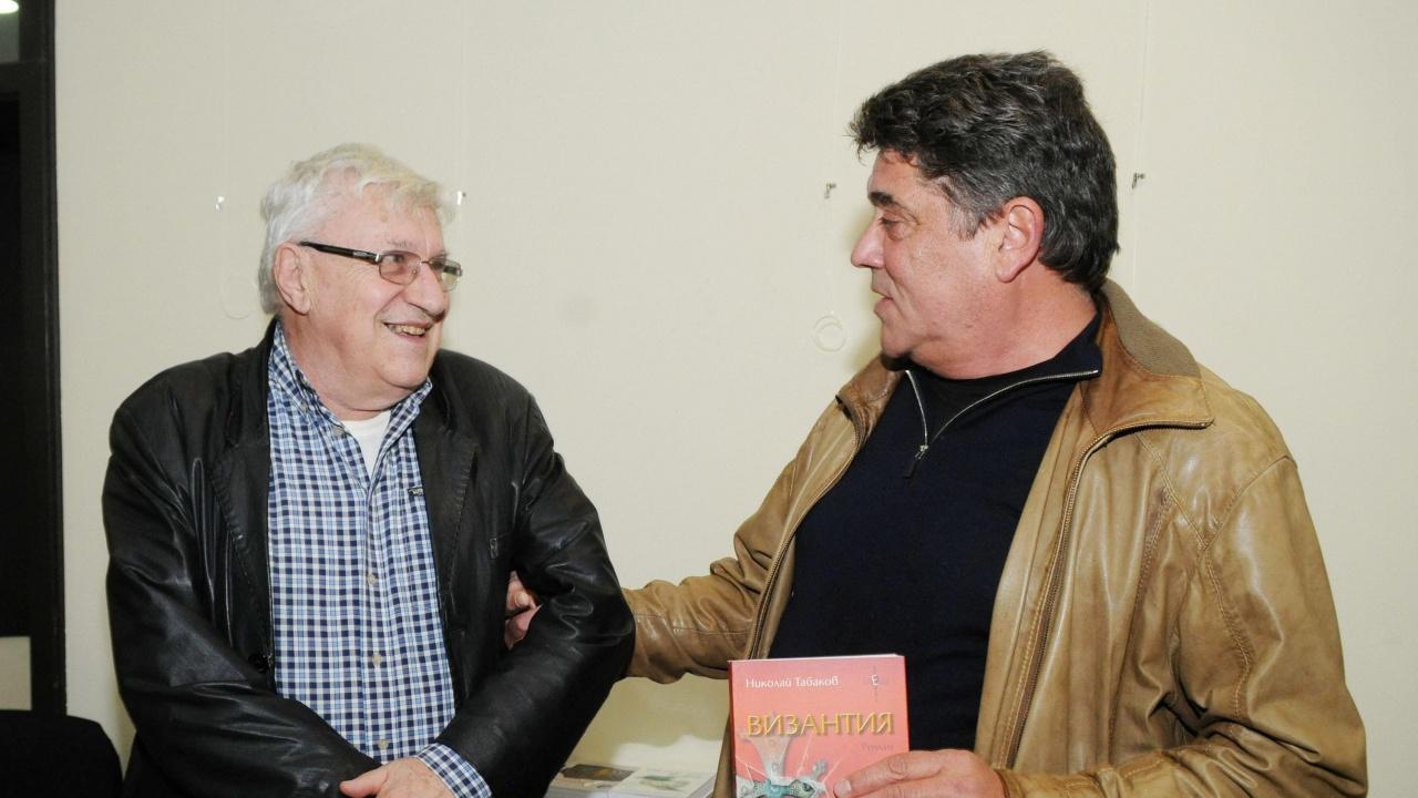 """Писателят Николай Табаков е носителят на наградата """"Проф. Димитър Димов"""""""