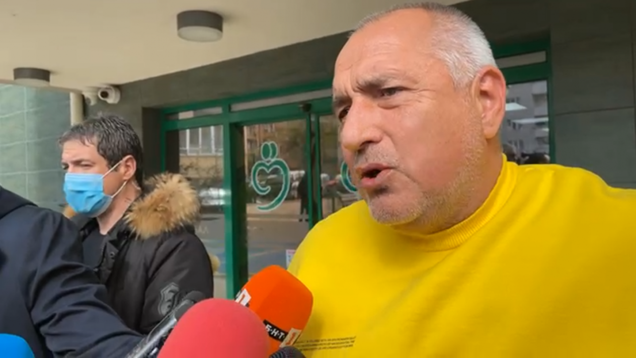 Борисов: Не му завиждам на Слави Трифонов
