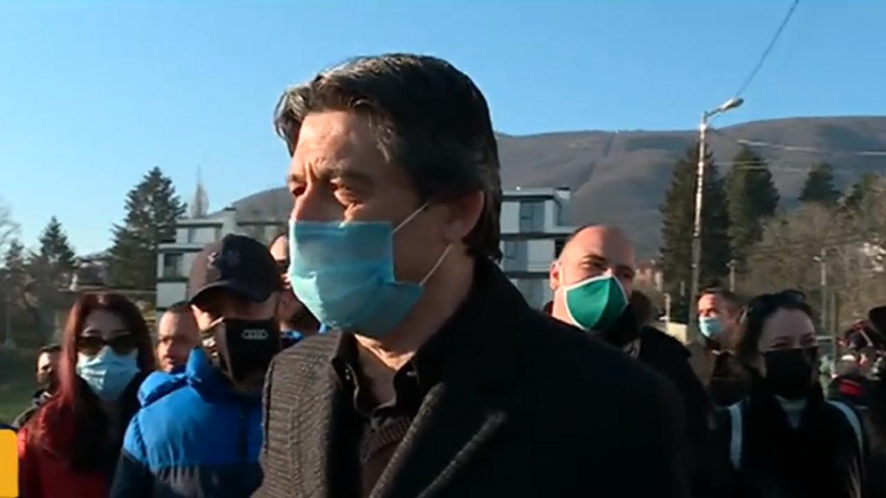 """Протест срещу строеж на спортен комплекс от бивш футболен национал в """"Бояна"""""""