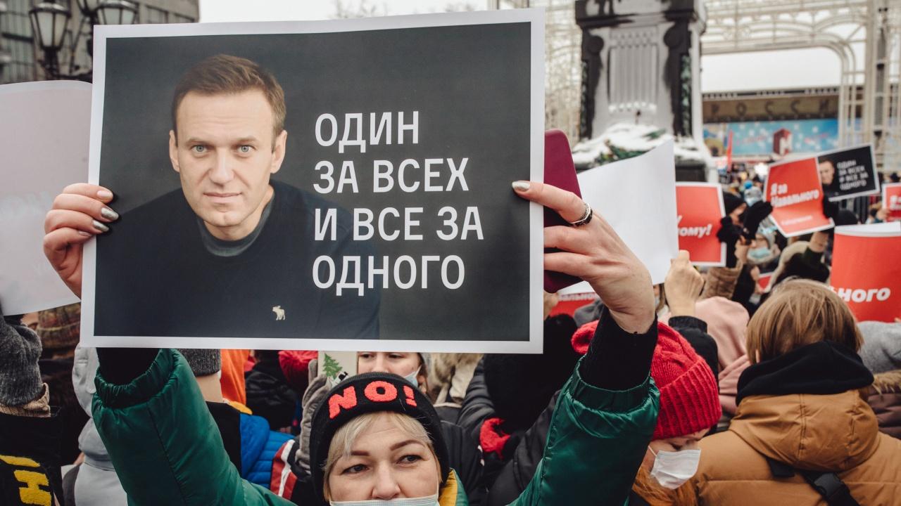Навални отправи от затвора прочувствено послание към протестиращите