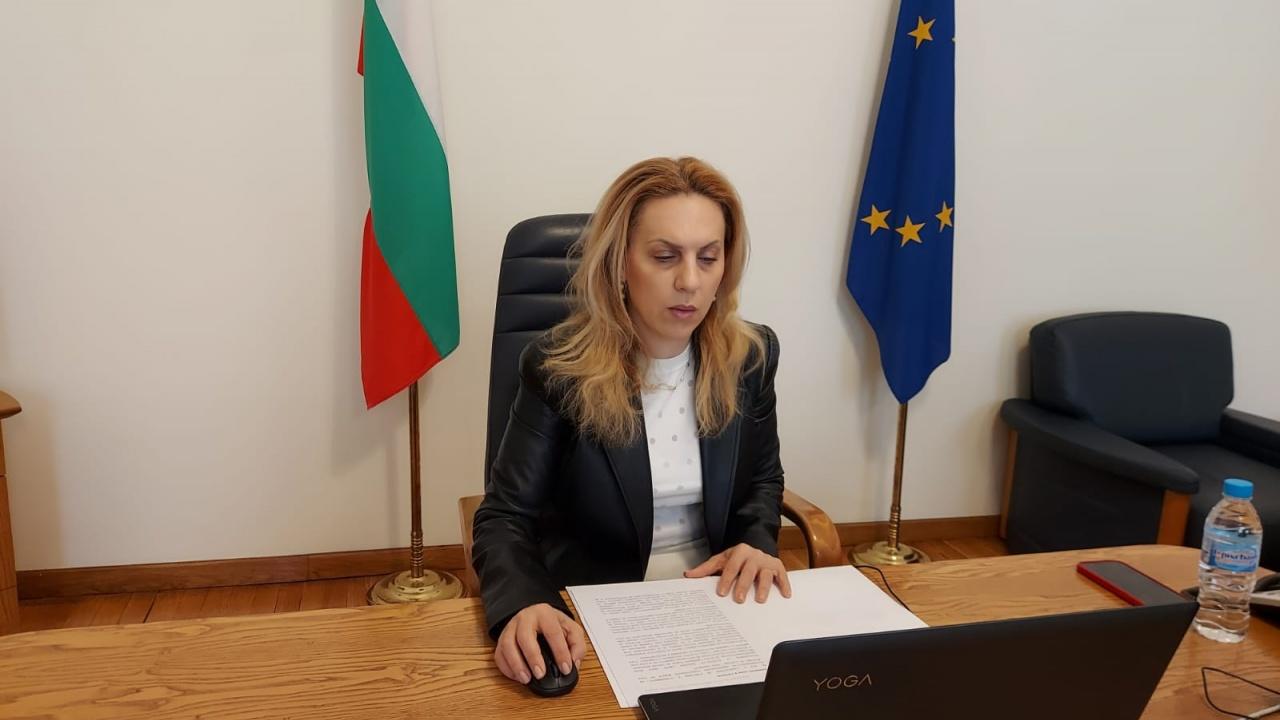 Марияна Николова участва в откриването на 14-ти Черноморски туристически форум