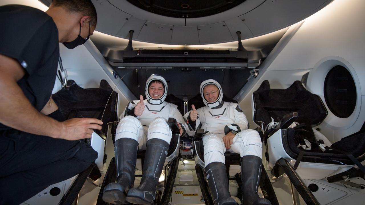 SpaceX изстреля своя втори  екипаж до МКС