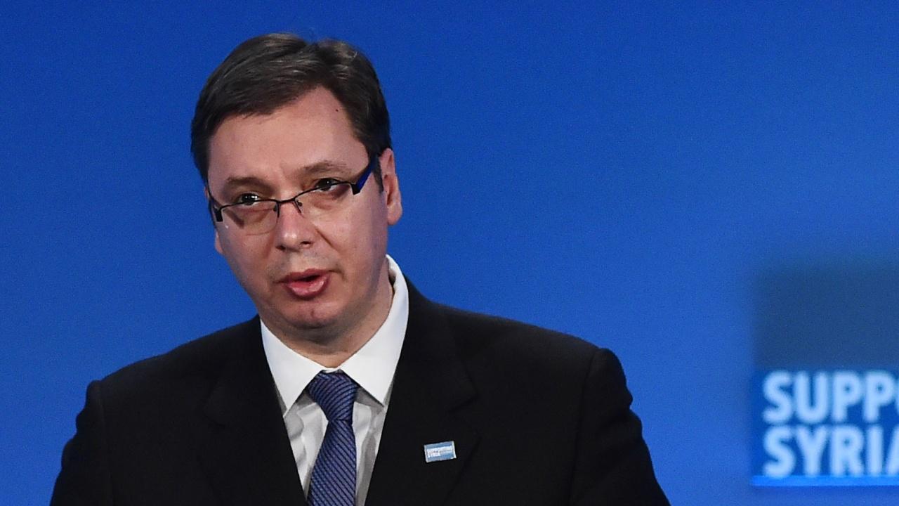 Вучич: Ще създадем Велика Сърбия