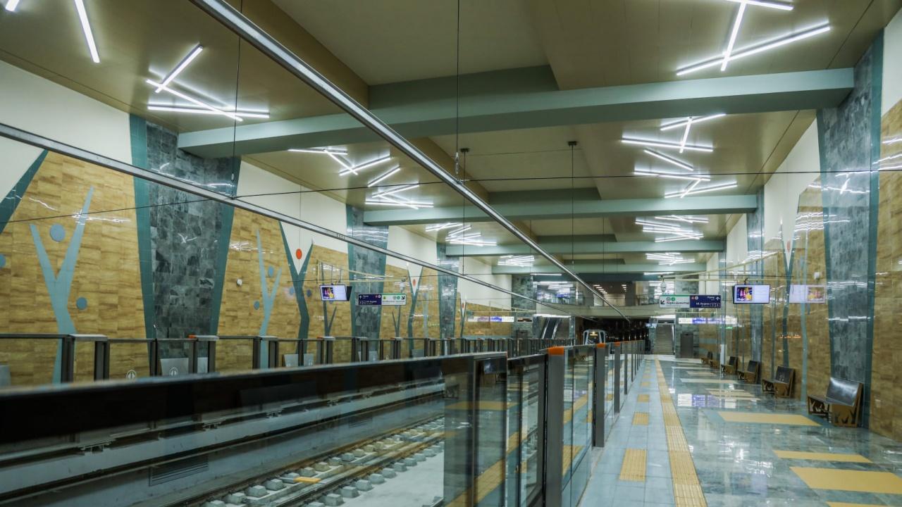 Новият участък на метрото: Утре безплатно