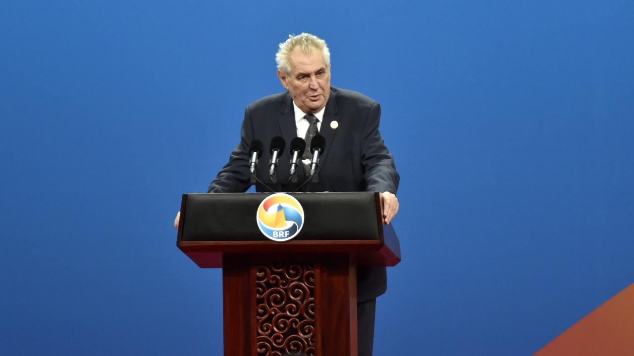 Чешкият президент: Установена е връзката на Емилиян Гебрев с експлозиите в складовете във Върбетице
