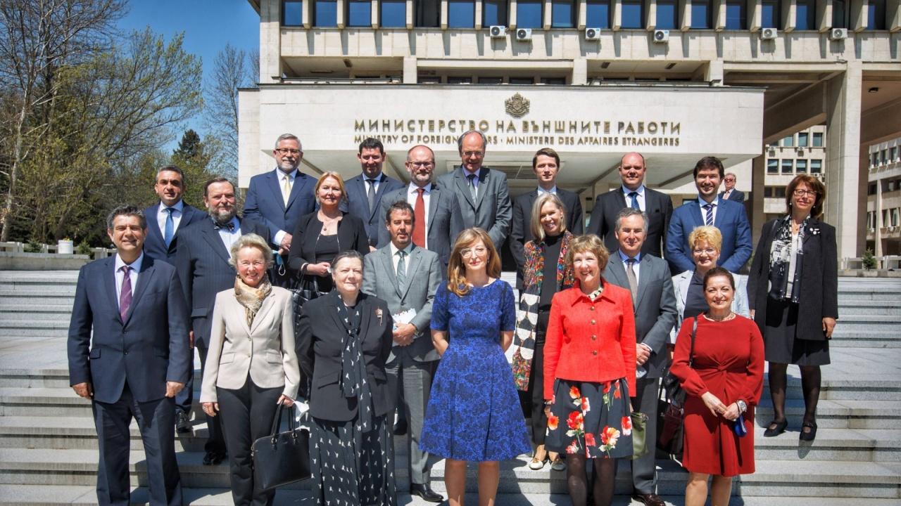 Екатерина Захариева благодари на посланиците от ЕС за отличното сътрудничество през изминалите 4 години