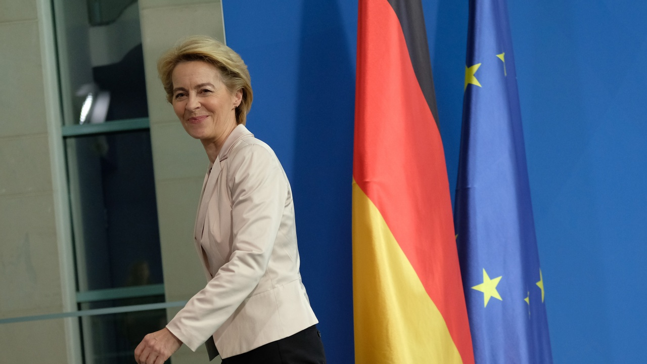 Фон дер Лайен призова ЕП да гласува търговската сделка с Великобритания