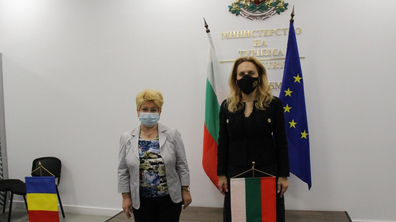 Н. Пр. посланик Предеску към вицепремиера Марияна Николова: Поздравявам Ви за рекламата, която правите на България в Румъния