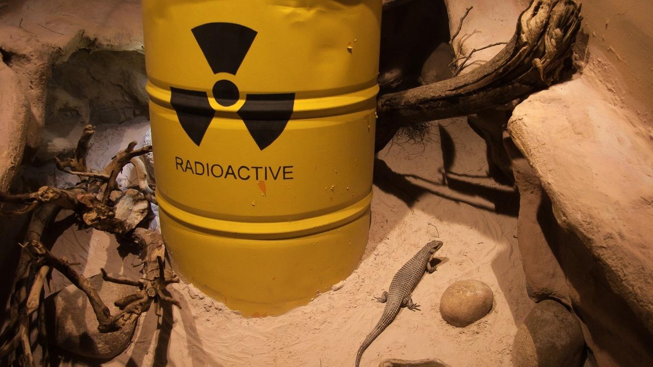 Германец откри радиоактивен материал в гаража си