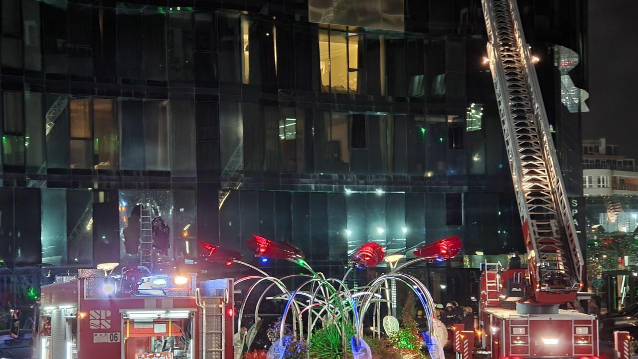 Евакуираха хотел в София