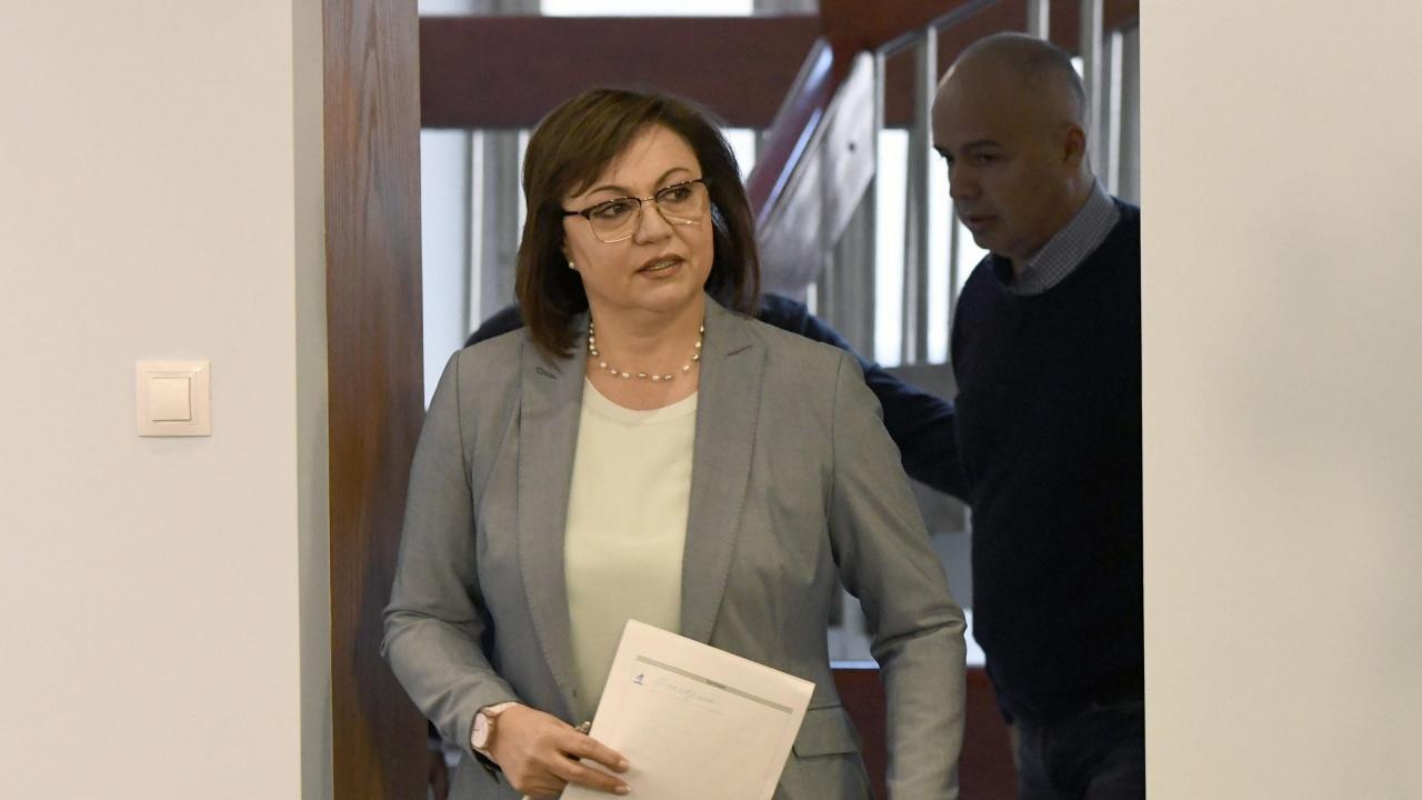 Корнелия Нинова обясни защо БСП бойкотират седмичната програма на НС
