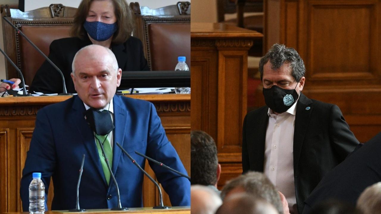 """Пленарната зала """"пламна"""": Депутатите се скараха за мажоритарния избор"""