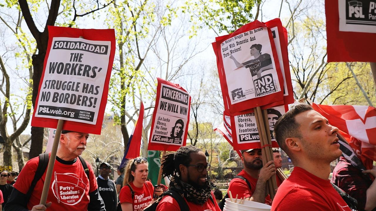 Отбелязваме 1 май - Ден на труда и на международната работническата солидарност