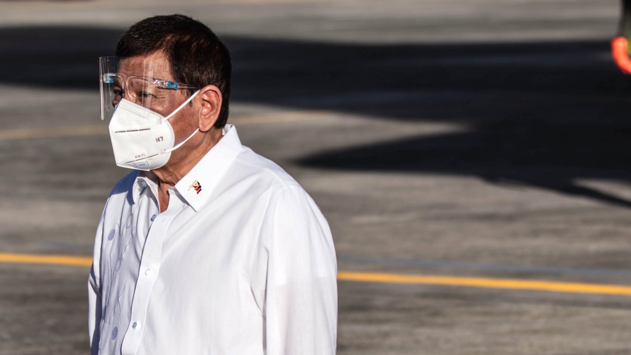 Родриго Дутерте се ваксинира срещу COVID-19