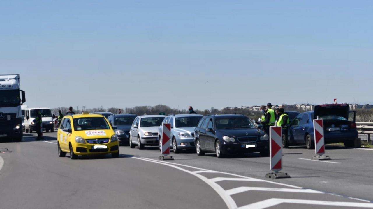 """Очаква се засилен трафик по АМ """"Тракия"""" днес"""