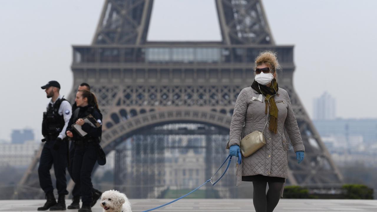 Епидемията от новия коронавирус във Франция постепенно губи сила