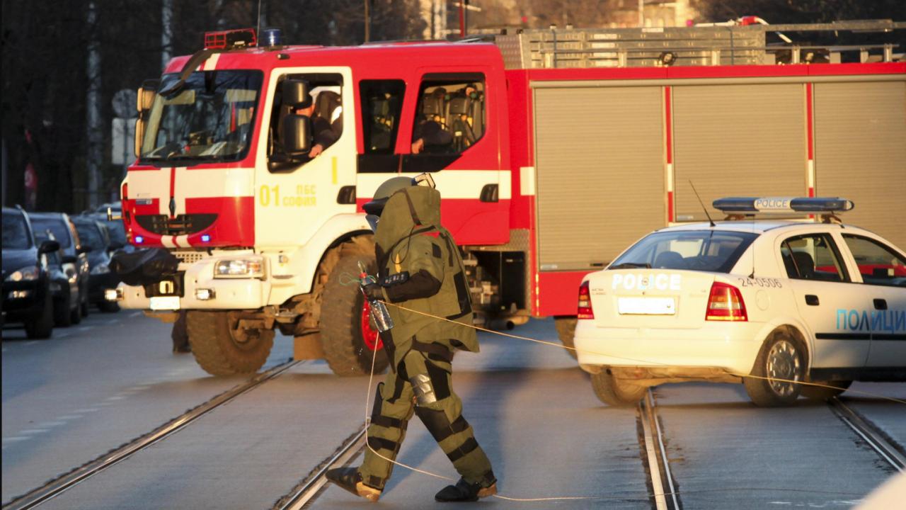 Авиоснаряд от Втората световна война вдигна на крак военни, полиция и пожарна в София