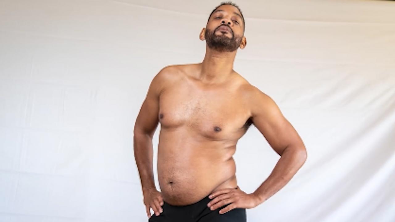 Уил Смит сваля килограми пред камера