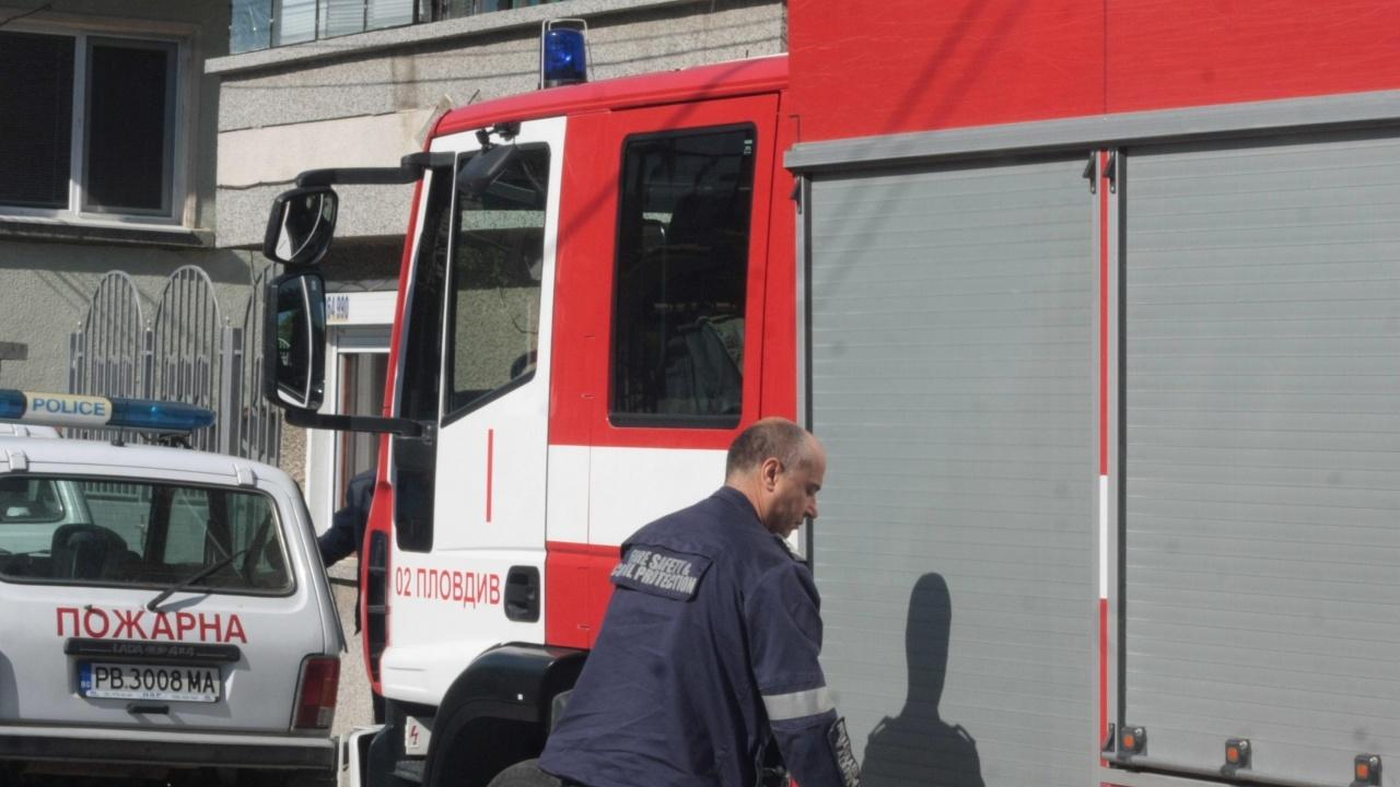 Взрив в апартамент в Асеновград
