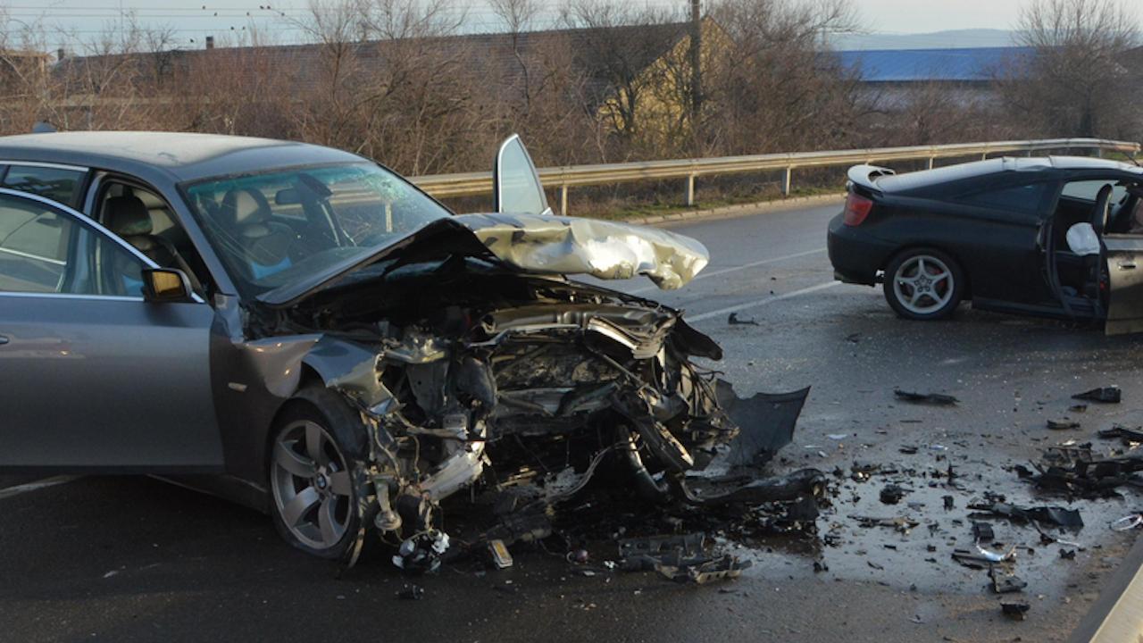 Шофьор почина при катастрофа в Кресненското дефиле
