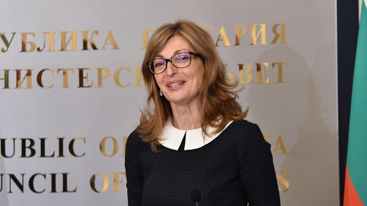 Екатерина Захариева поздрави гражданите на ЕС по случай Деня на Европа