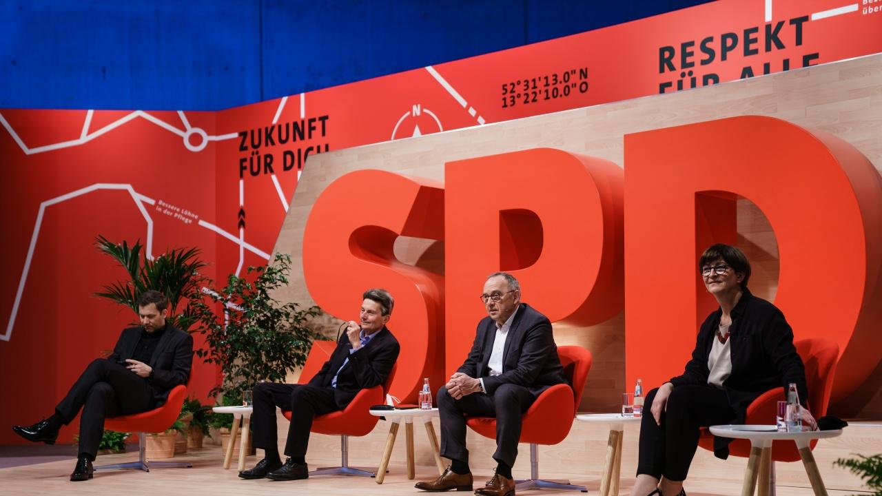 Германските социалдемократи откриха партийната си конференция за избор на кандидат за канцлер