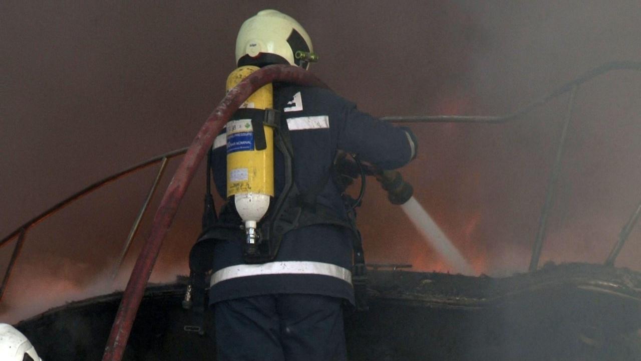 Пожар унищожи апартамент в София