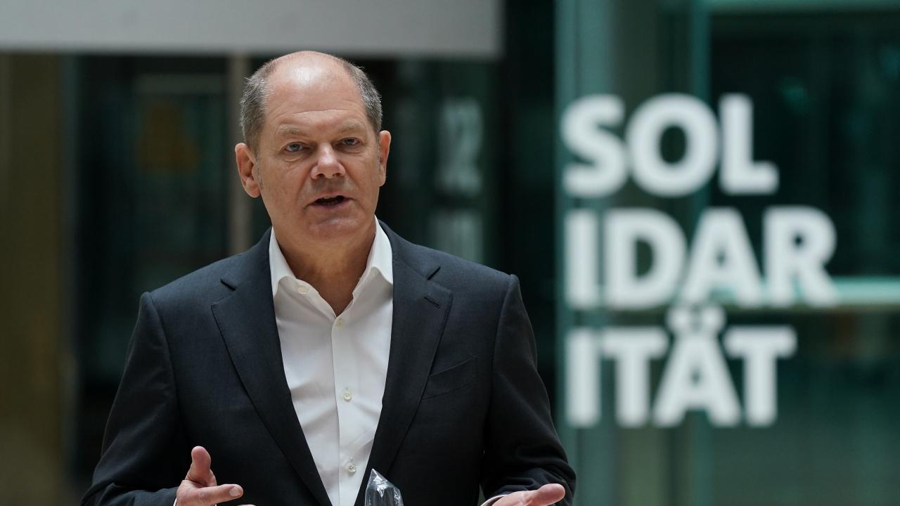 ГСДП избраха Олаф Шолц за кандидат-канцлер