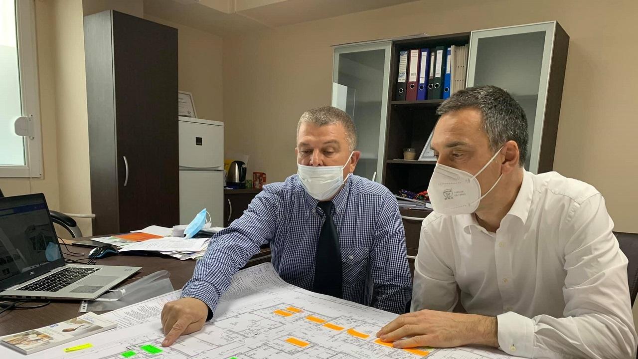 """Започва следващ етап от изграждането на шумозащитна стена край бургаския квартал """"Сарафово"""""""