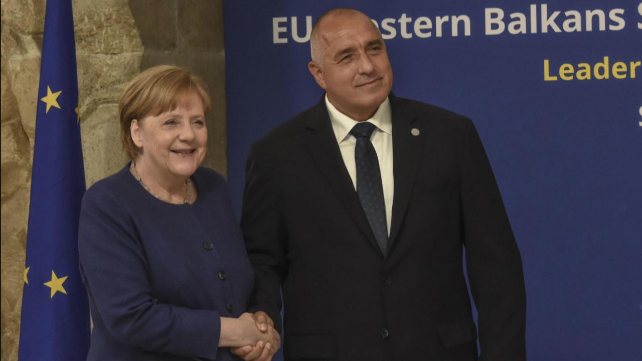Борисов и Меркел си взеха сбогом