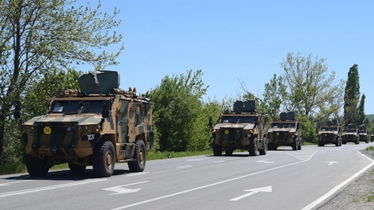 """Започна придвижването през нашата страна на участници в учението на НАТО """"Steadfast Defender  - 21"""""""