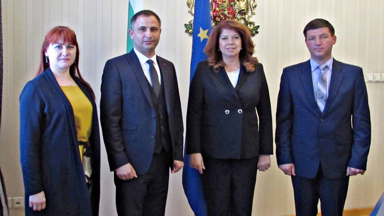 Възможности за съвместни проекти обсъдиха вицепрезидентът Йотова и кметът на Болград