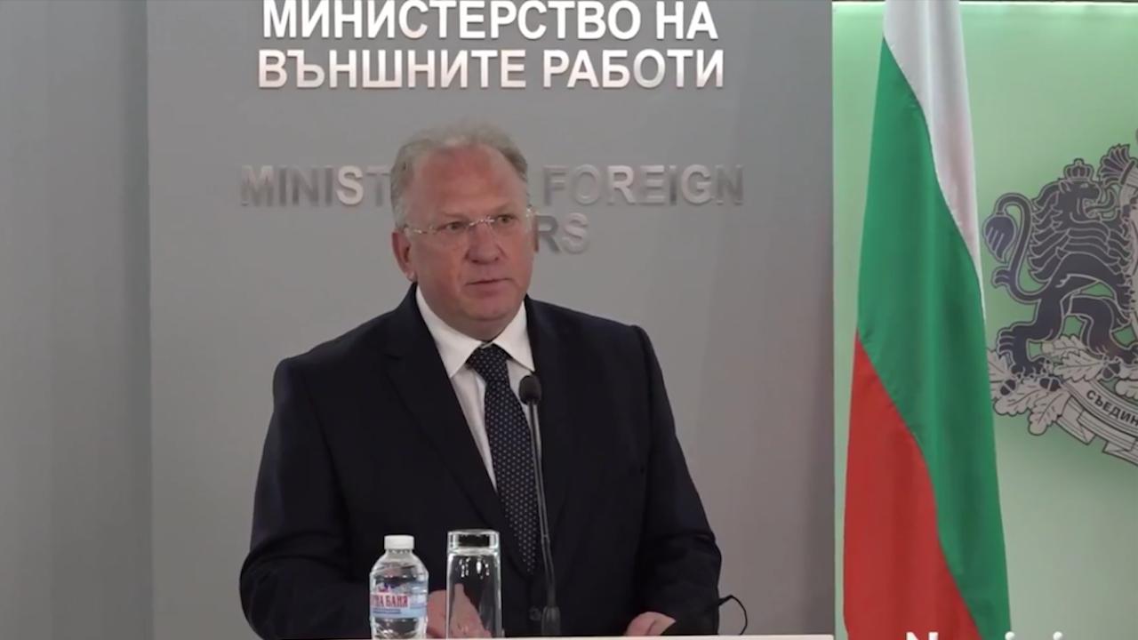 Служебният външен министър обяви ще има ли промяна в позицията ни за Северна Македония