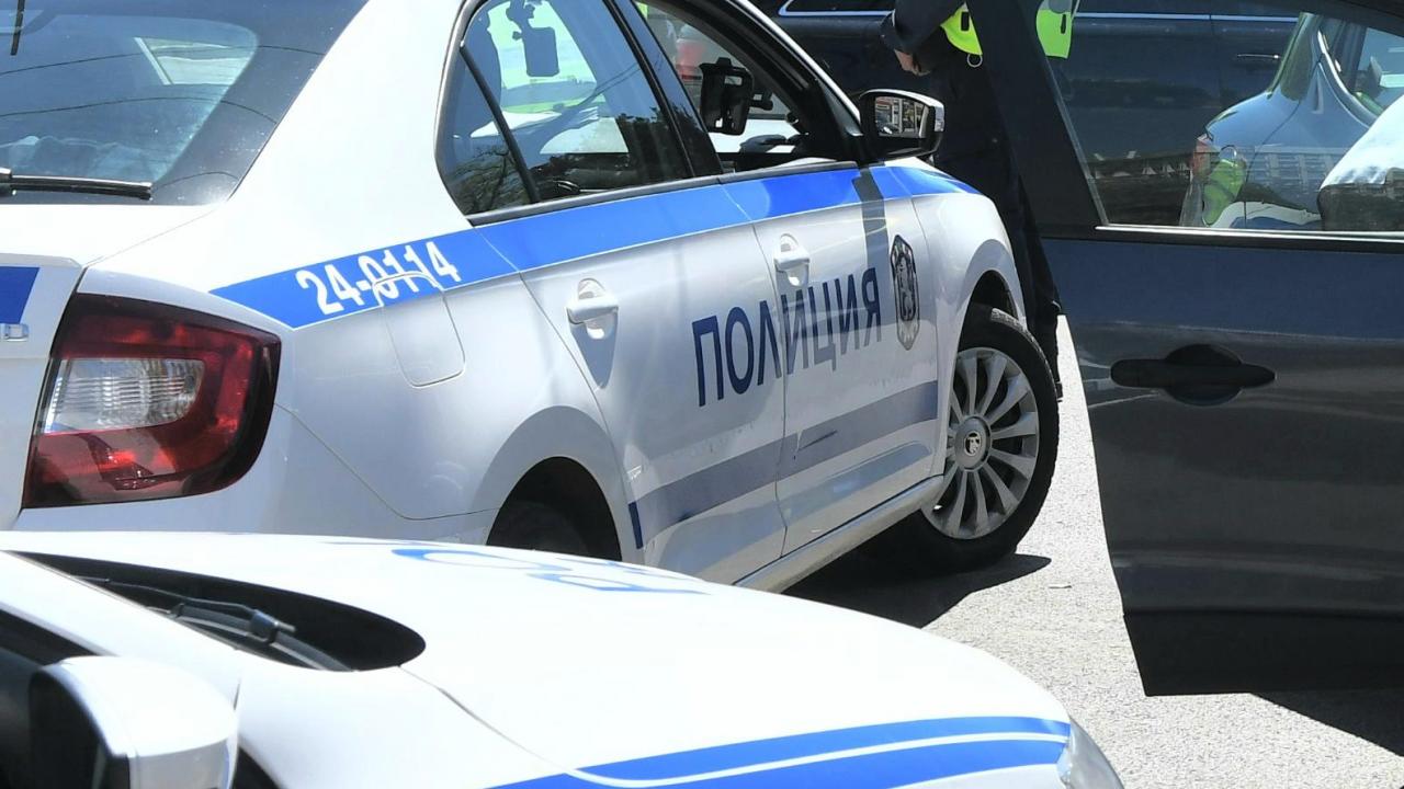 """Задръстване и катастрофа на столичното """"Цариградско шосе"""""""