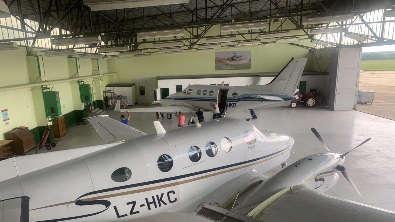 От днес в борбата с градушките в България  се включват три самолета