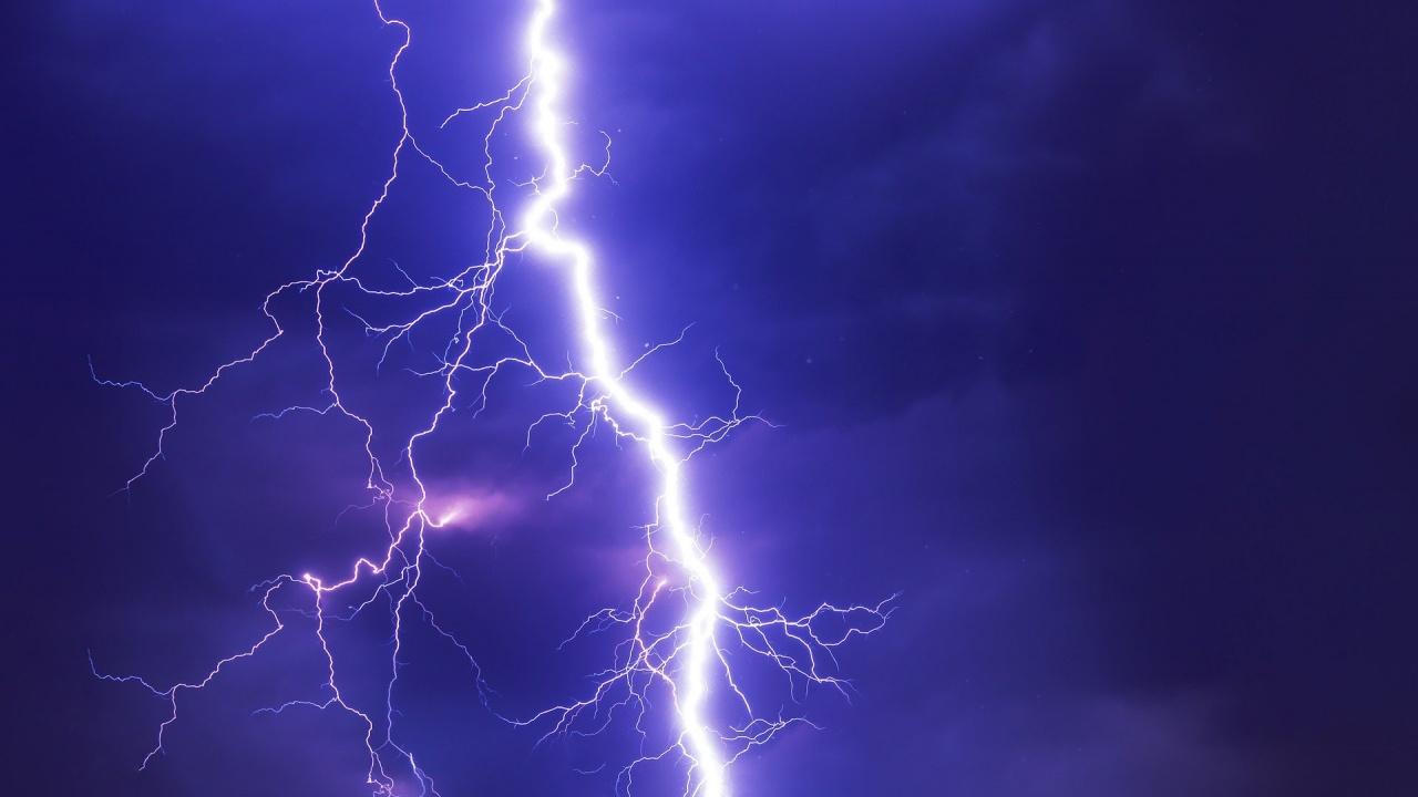 Жълт код за гръмотевични бури за седем области утре