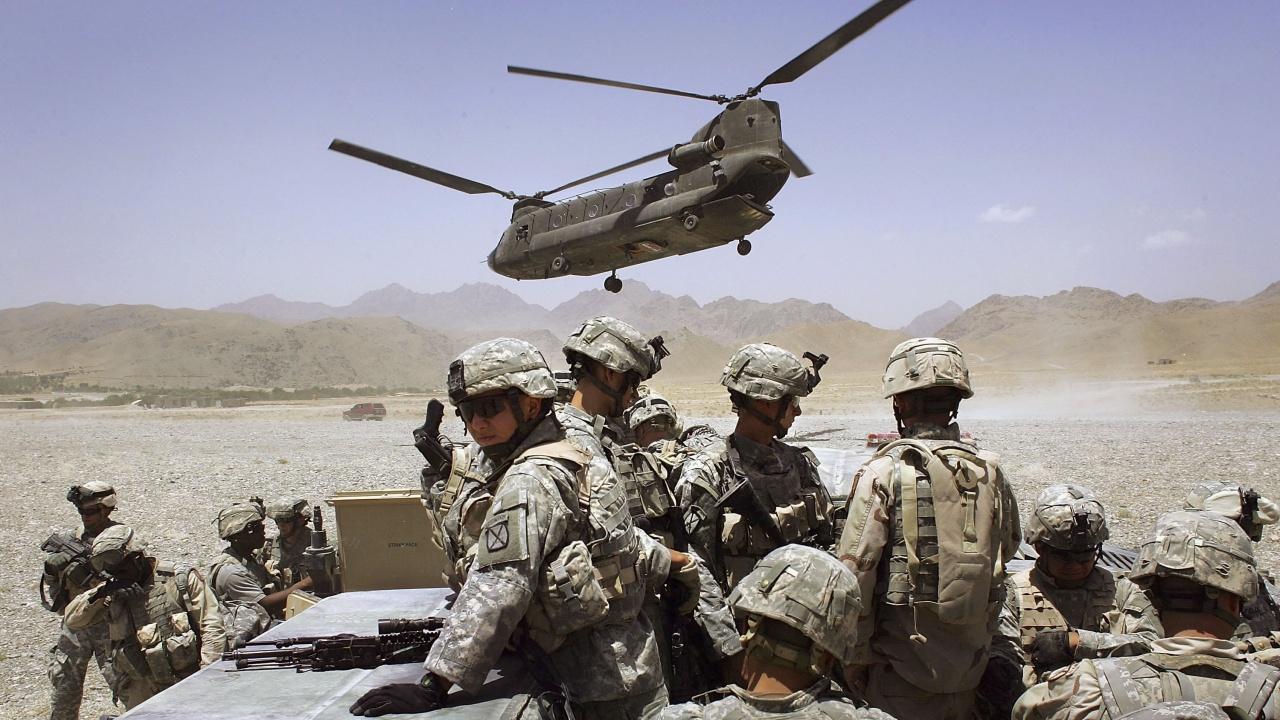 Американските войски се изтеглиха от една от най-важните си бази в Афганистан