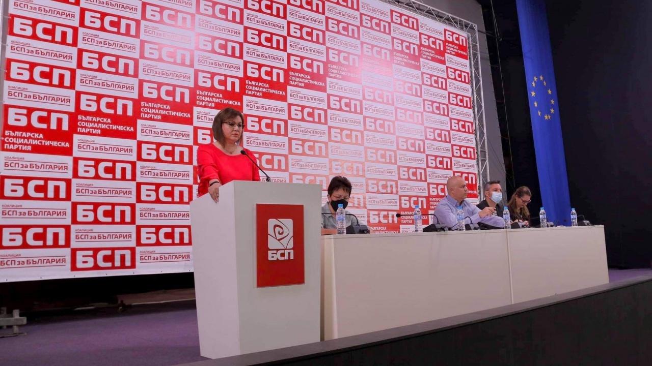 НС на БСП прие единодушно докладът на Корнелия Нинова и план за действие за предстоящите избори