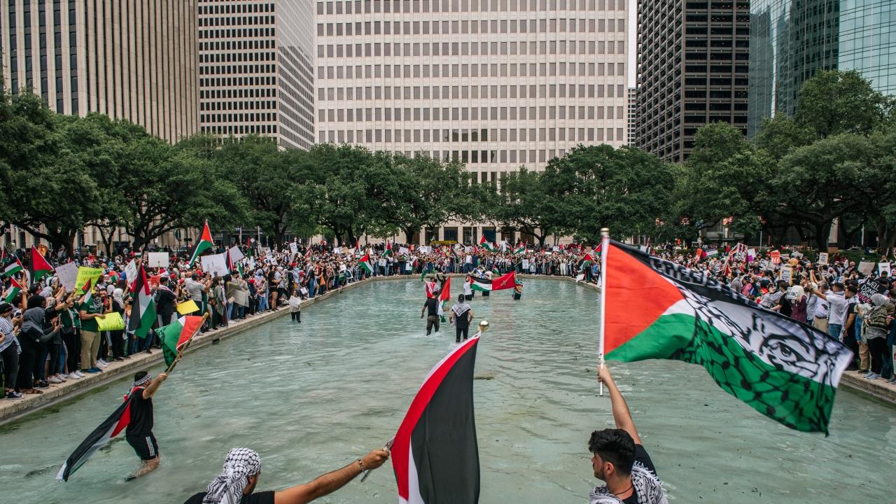 Протести в подкрепа на Ивицата Газа се проведоха в градове в САЩ и Канада