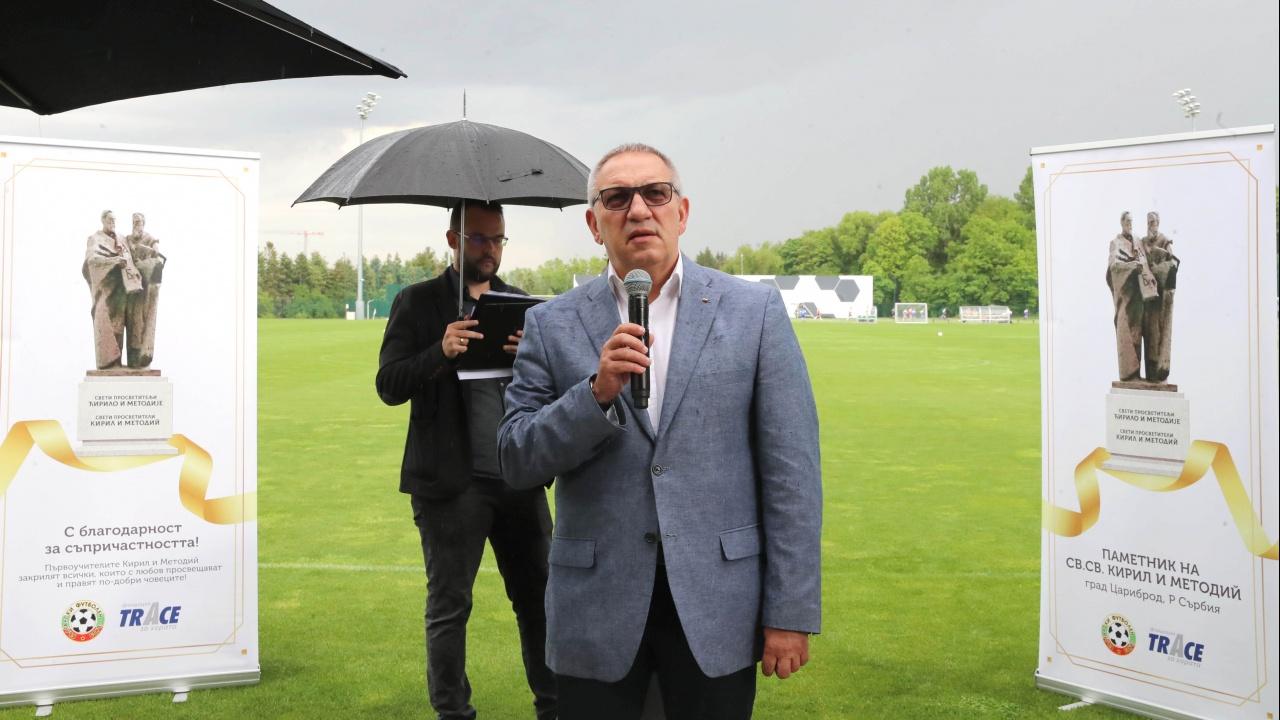 Министър Кузманов подкрепи благотворителна инициатива