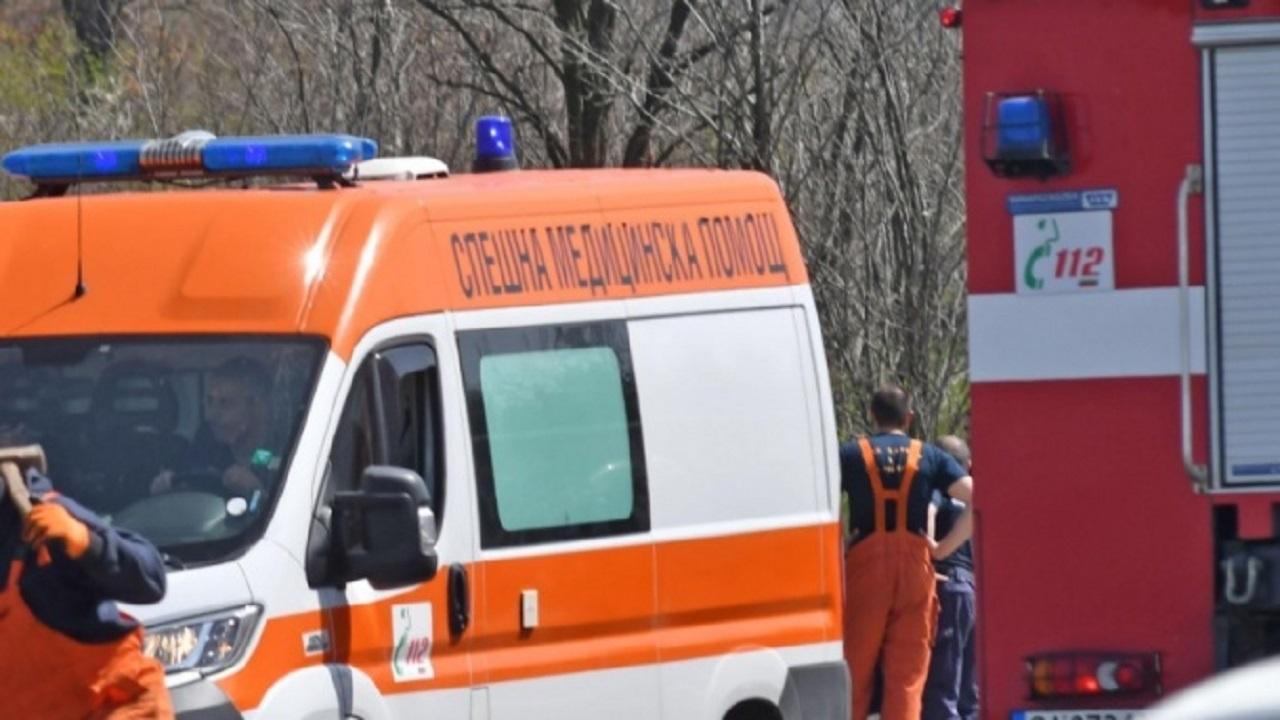 Мъж и дете в болница след взрив в Доганово