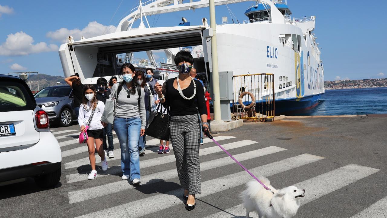 Първите туристи от ЕС пристигнаха в Италия