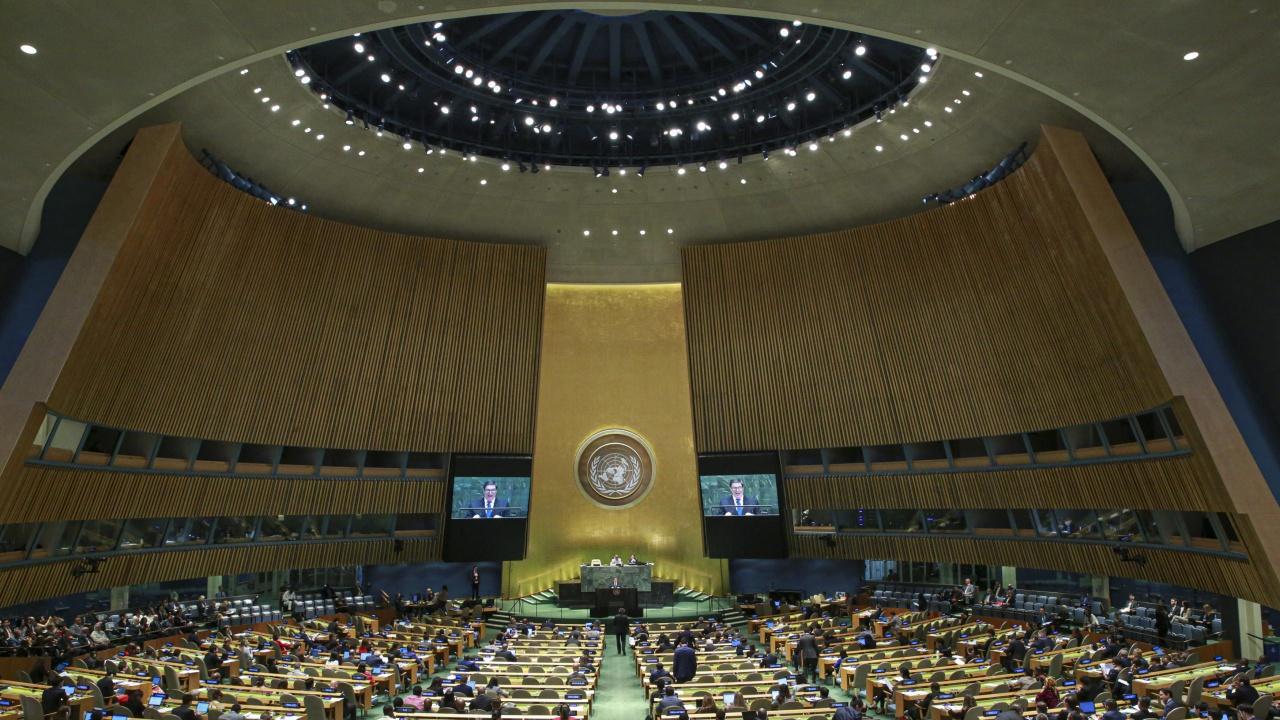 Общото събрание на ООН ще се събере в четвъртък заради насилието в Близкия изток