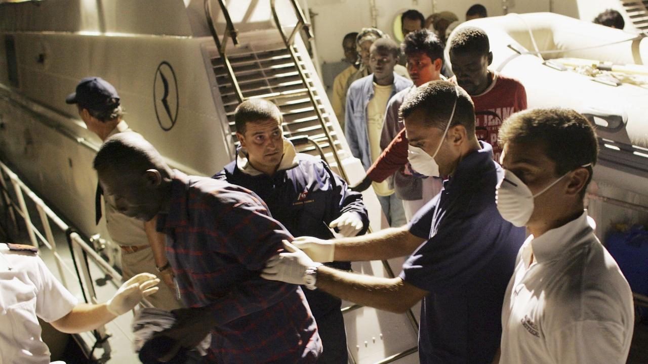 Дъблин приема мигранти, пристигнали в Италия
