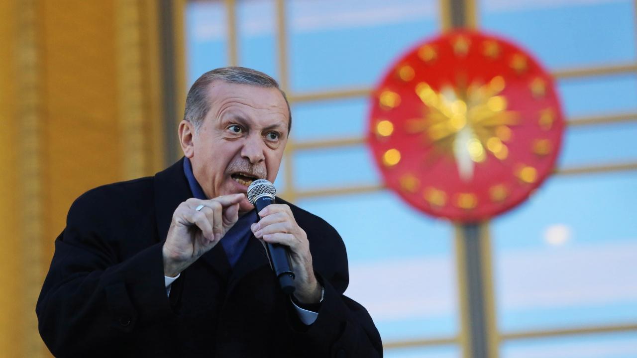 Ердоган каза, че ръцете на Байдън са изцапани с кръв