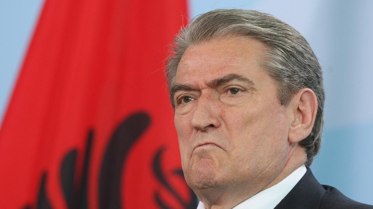 САЩ наложиха санкции на бившия президент на Албания Сали Бериша