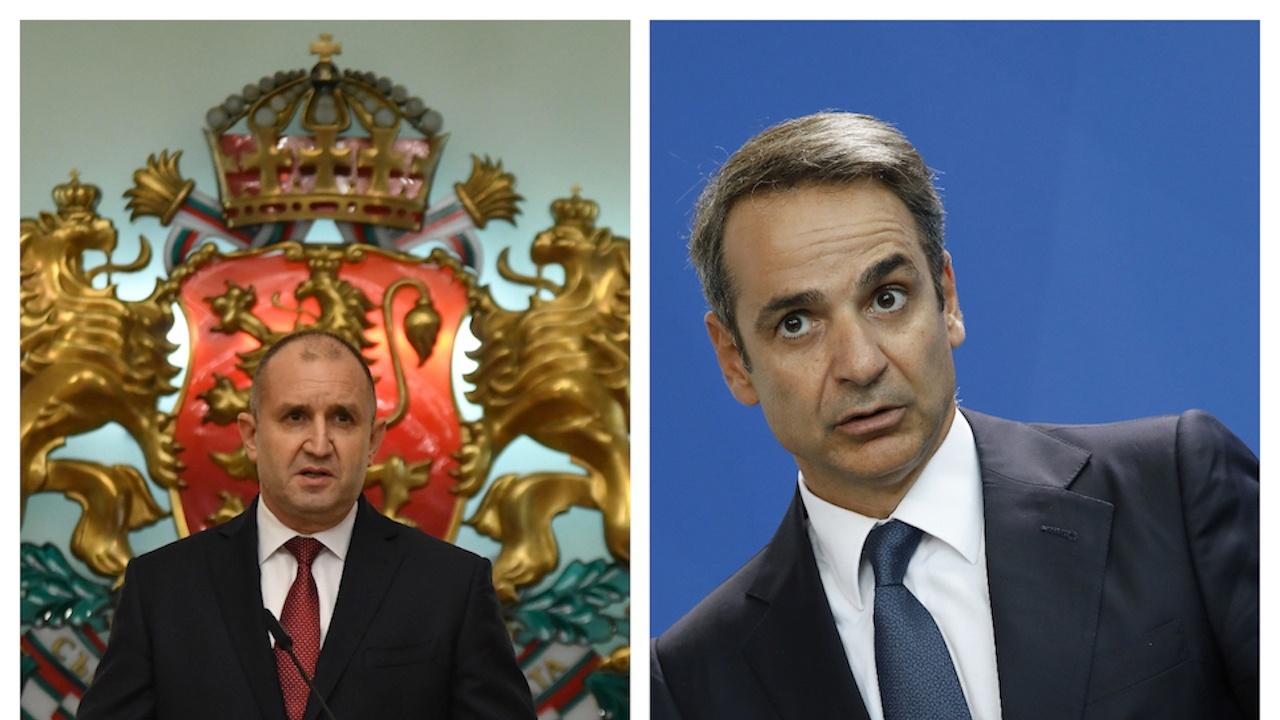 Румен Радев се чу с гръцкия премиер
